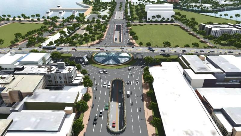 Đà Nẵng khởi công nút giao 3 tầng hơn 723 tỉ đồng - ảnh 2