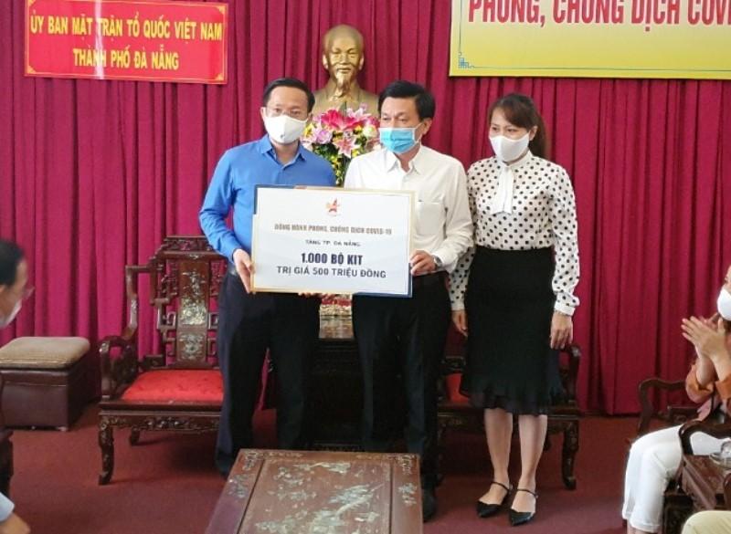 Đà Nẵng nhận 85 tấn gạo ủng hộ cho cây ATM gạo - ảnh 2