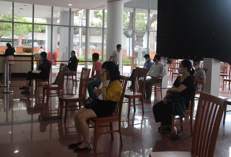 Đà Nẵng thực hiện nghiêm giãn cách tại Trung tâm Hành chính - ảnh 1