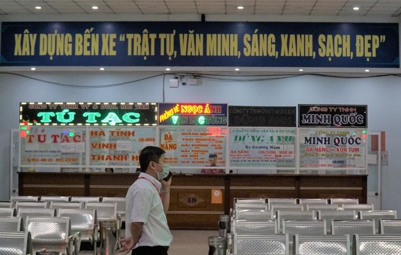 Bến xe, ga tàu Đà Nẵng đìu hiu những ngày trước lễ 30-4 - ảnh 1