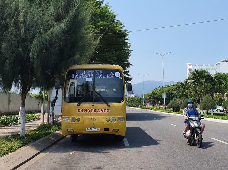 Quảng Nam lo 'vỡ trận' xe buýt liên tỉnh với Đà Nẵng - ảnh 1