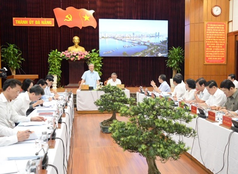 Đà Nẵng xin tăng thêm 1 phó bí thư xây dựng Đảng - ảnh 1