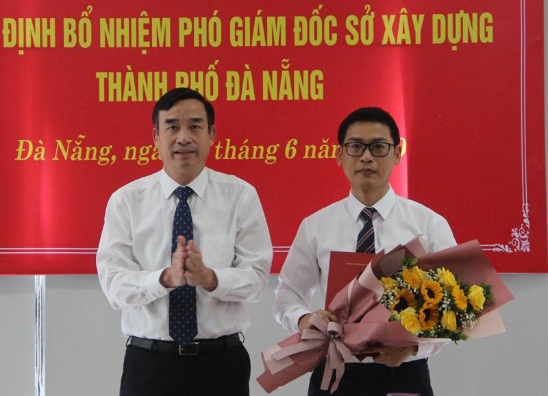 Sở Xây dựng Đà Nẵng có tân Phó giám đốc - ảnh 1