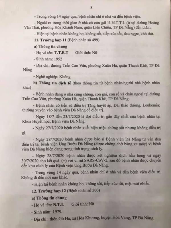 Những nơi 13 ca COVID-19 mới tại Đà Nẵng từng đến - ảnh 8