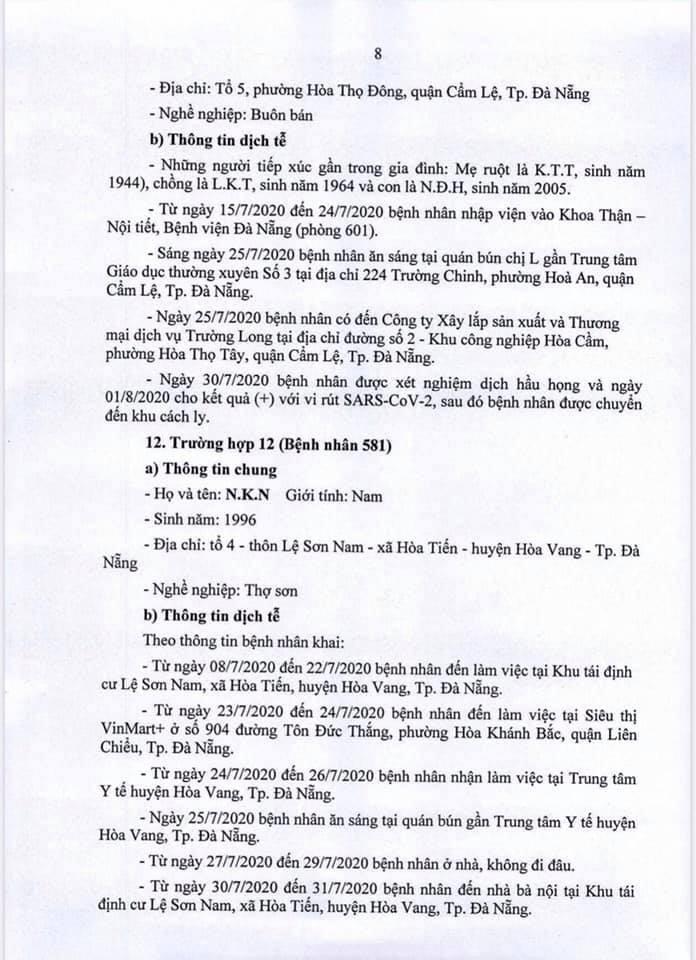 Mẹ bầu mang thai 35 tuần tuổi tại Đà Nẵng mắc COVID-19 - ảnh 8