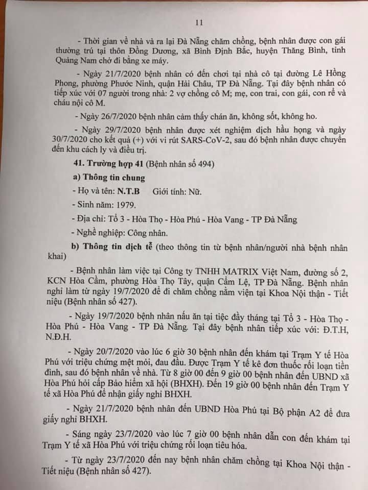 1 bệnh nhân COVID-19 tại Đà Nẵng không hợp tác khai báo - ảnh 11
