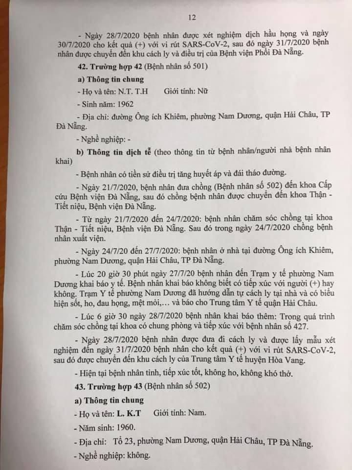 1 bệnh nhân COVID-19 tại Đà Nẵng không hợp tác khai báo - ảnh 12