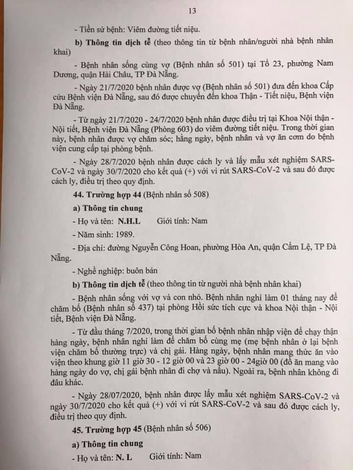 1 bệnh nhân COVID-19 tại Đà Nẵng không hợp tác khai báo - ảnh 13