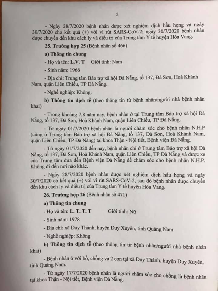 1 bệnh nhân COVID-19 tại Đà Nẵng không hợp tác khai báo - ảnh 2