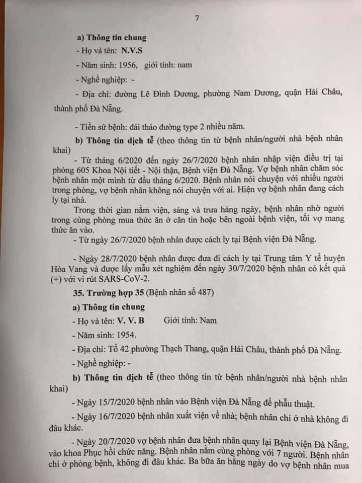 1 bệnh nhân COVID-19 tại Đà Nẵng không hợp tác khai báo - ảnh 7