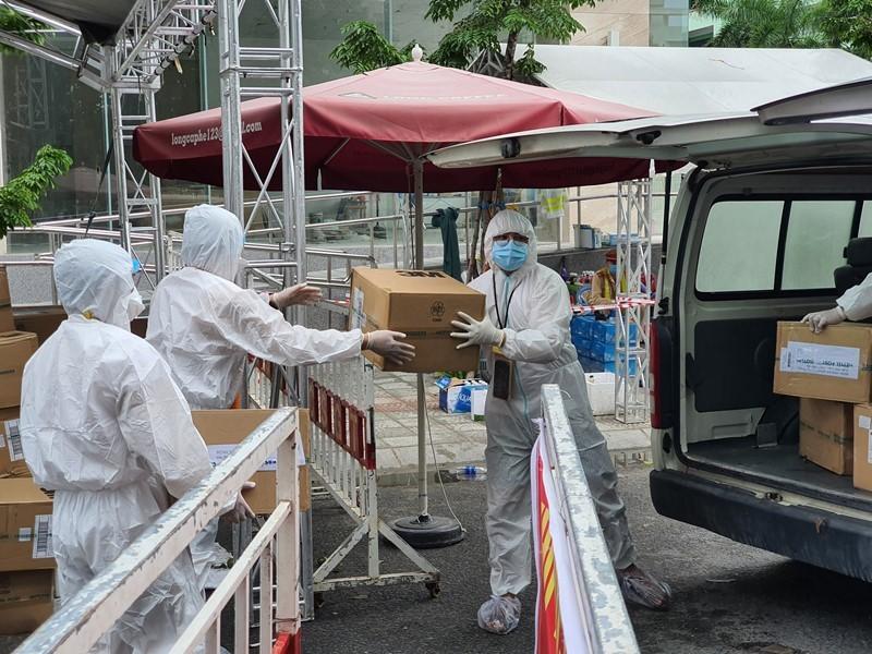 1 liên doanh của Singapore tài trợ cho Đà Nẵng chống dịch - ảnh 1