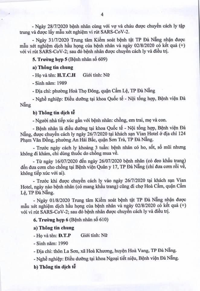 Một bệnh nhân COVID-19 tại Đà Nẵng dự 2 đám cưới - ảnh 4
