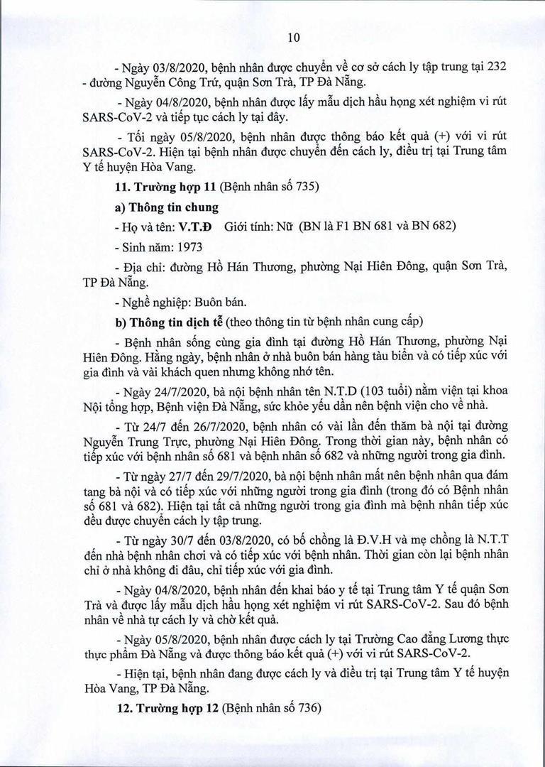 Đà Nẵng: 1 cán bộ Quận ủy Hải Châu nhiễm COVID-19 - ảnh 10