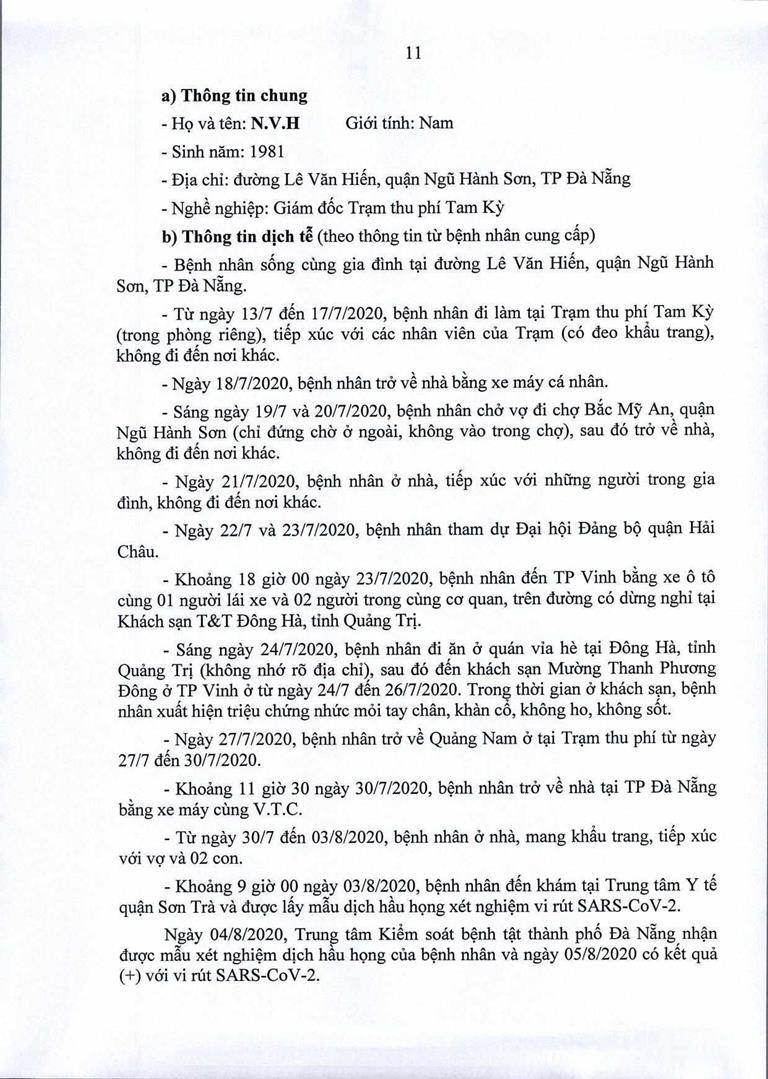 Đà Nẵng: 1 cán bộ Quận ủy Hải Châu nhiễm COVID-19 - ảnh 11