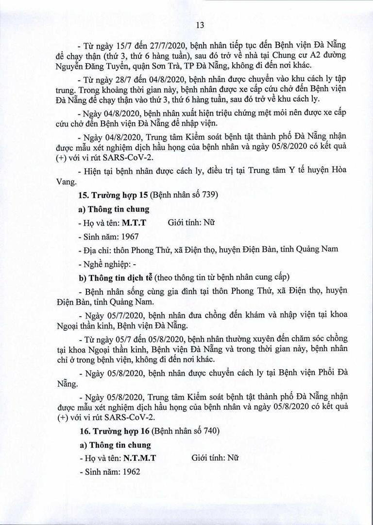 Đà Nẵng: 1 cán bộ Quận ủy Hải Châu nhiễm COVID-19 - ảnh 13