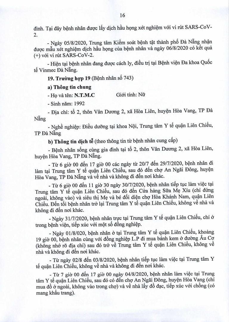 Đà Nẵng: 1 cán bộ Quận ủy Hải Châu nhiễm COVID-19 - ảnh 16