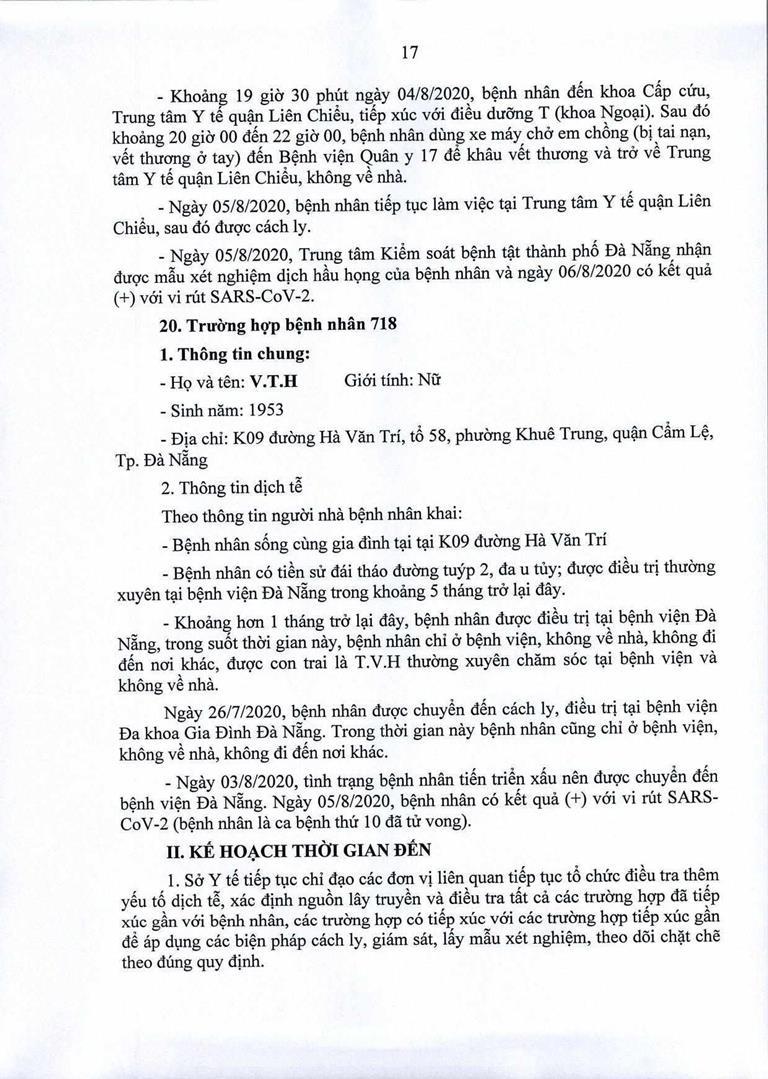 Đà Nẵng: 1 cán bộ Quận ủy Hải Châu nhiễm COVID-19 - ảnh 17