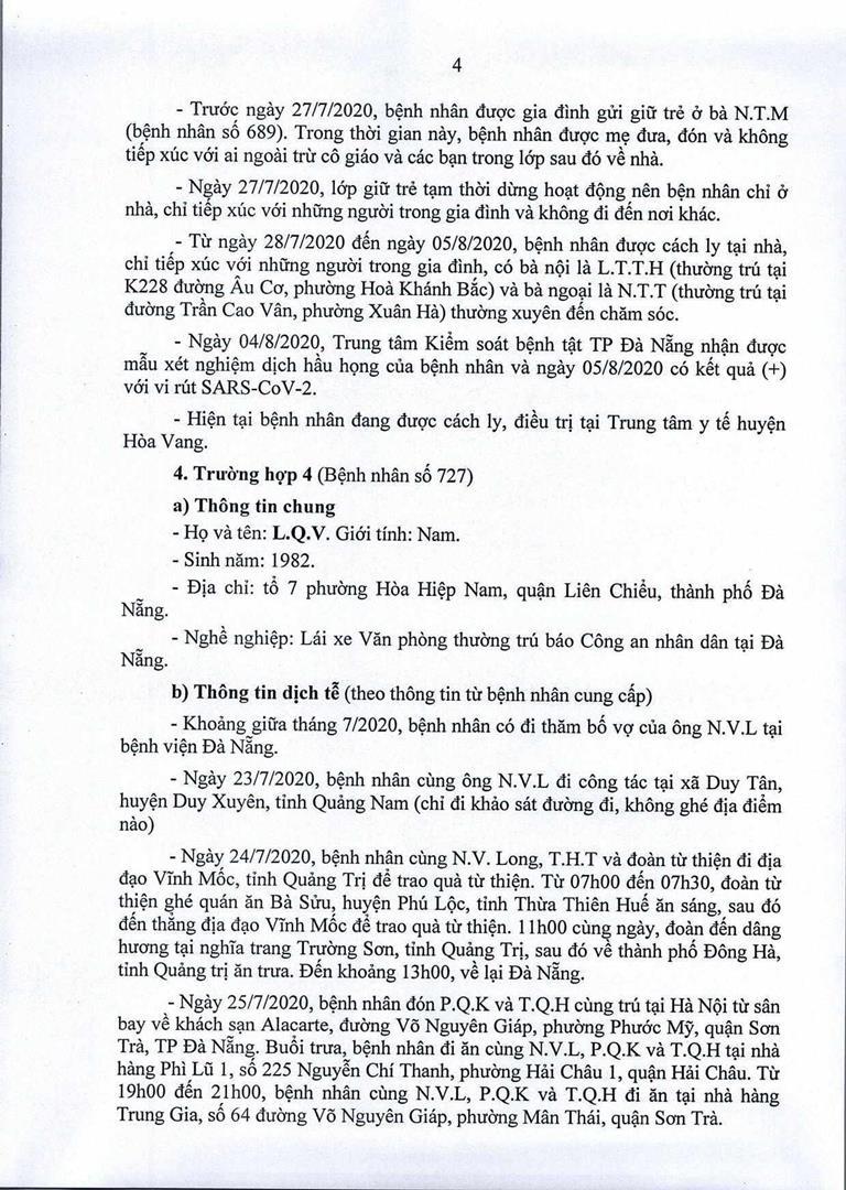 Đà Nẵng: 1 cán bộ Quận ủy Hải Châu nhiễm COVID-19 - ảnh 4