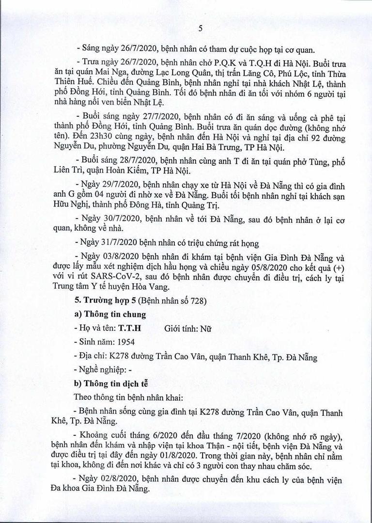 Đà Nẵng: 1 cán bộ Quận ủy Hải Châu nhiễm COVID-19 - ảnh 5