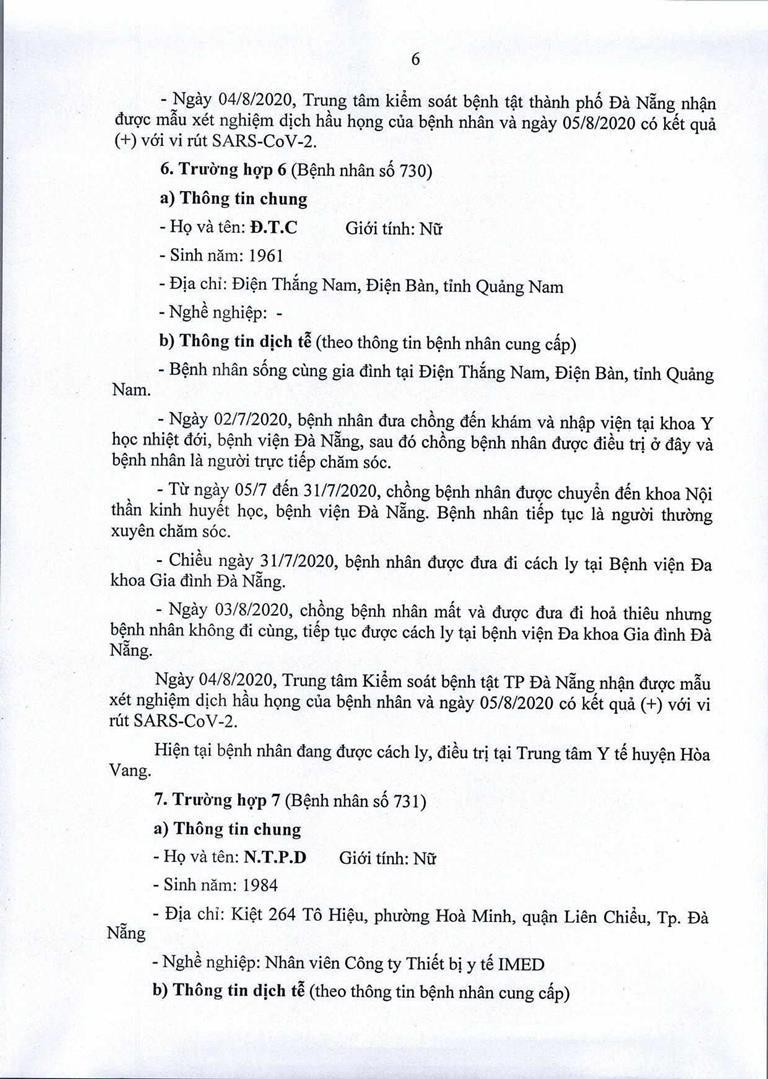 Đà Nẵng: 1 cán bộ Quận ủy Hải Châu nhiễm COVID-19 - ảnh 6