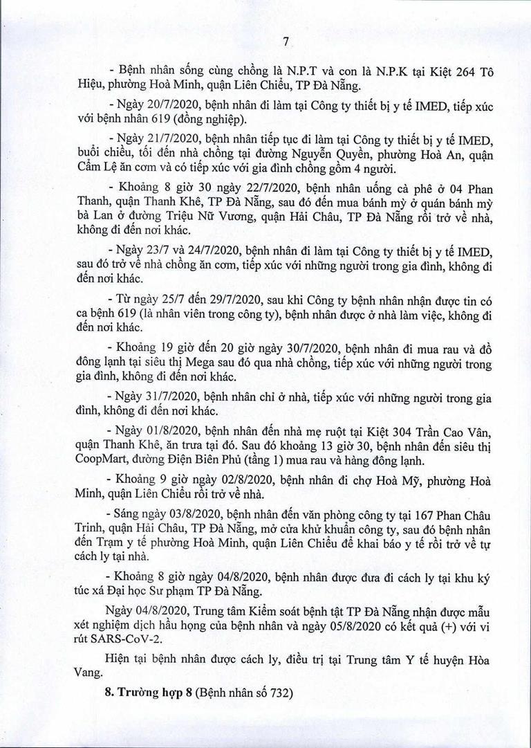 Đà Nẵng: 1 cán bộ Quận ủy Hải Châu nhiễm COVID-19 - ảnh 7