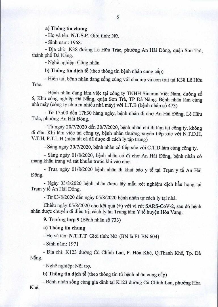 Đà Nẵng: 1 cán bộ Quận ủy Hải Châu nhiễm COVID-19 - ảnh 8