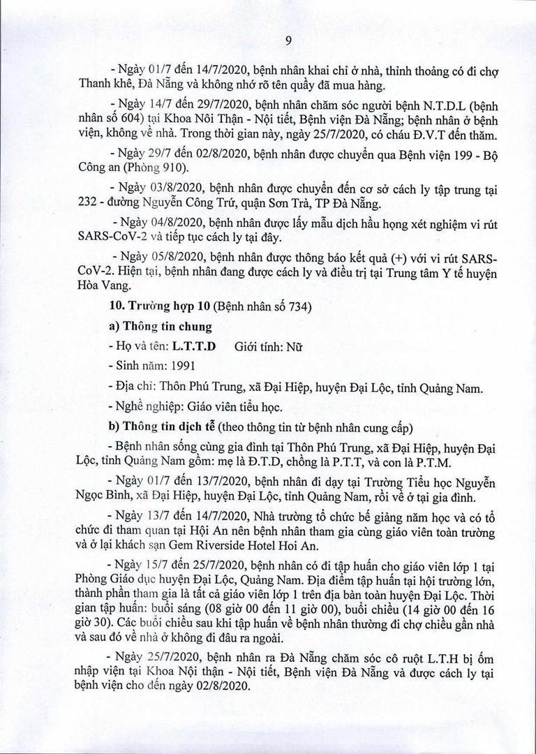 Đà Nẵng: 1 cán bộ Quận ủy Hải Châu nhiễm COVID-19 - ảnh 9