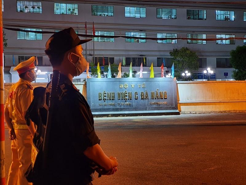 Có thể dỡ phong tỏa Bệnh viện C Đà Nẵng từ 0 giờ ngày 8-8 - ảnh 1