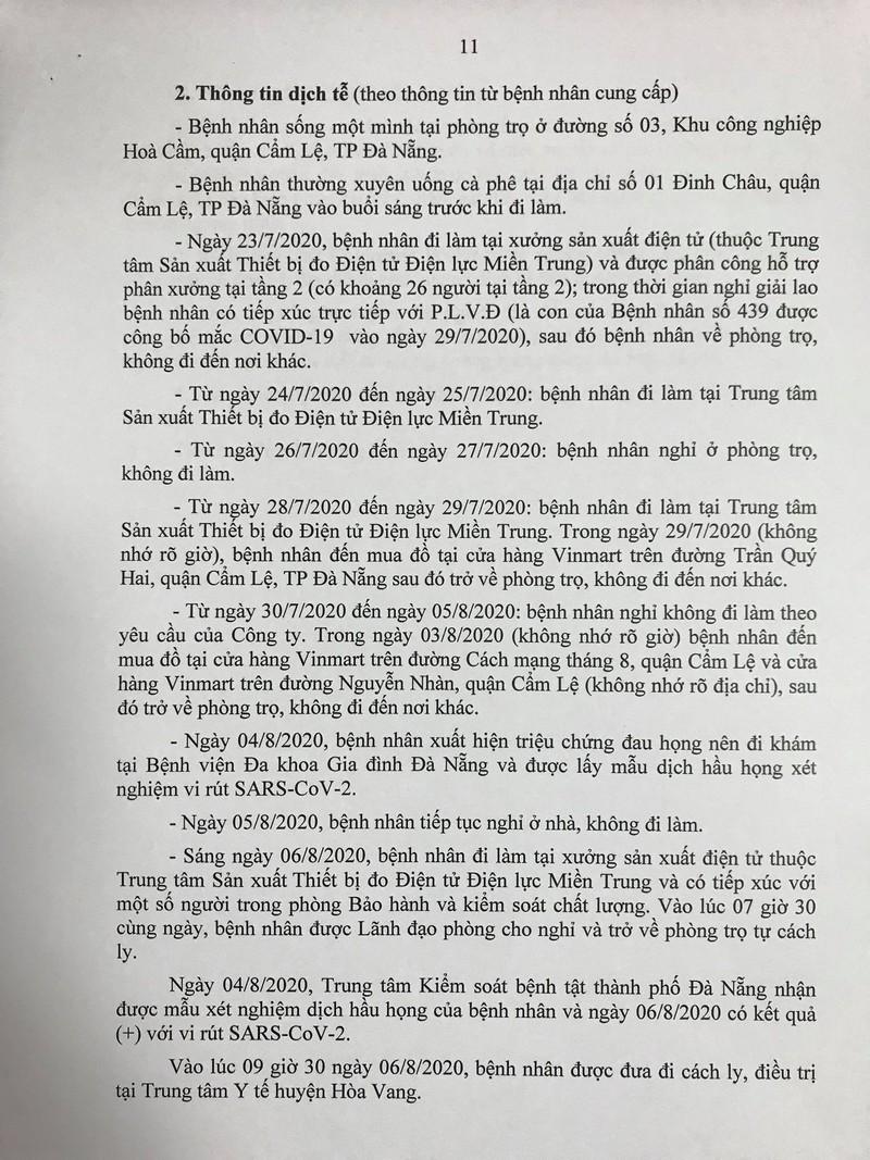 15 ca COVID-19 mới ở Đà Nẵng đã tiếp xúc với những ai? - ảnh 11
