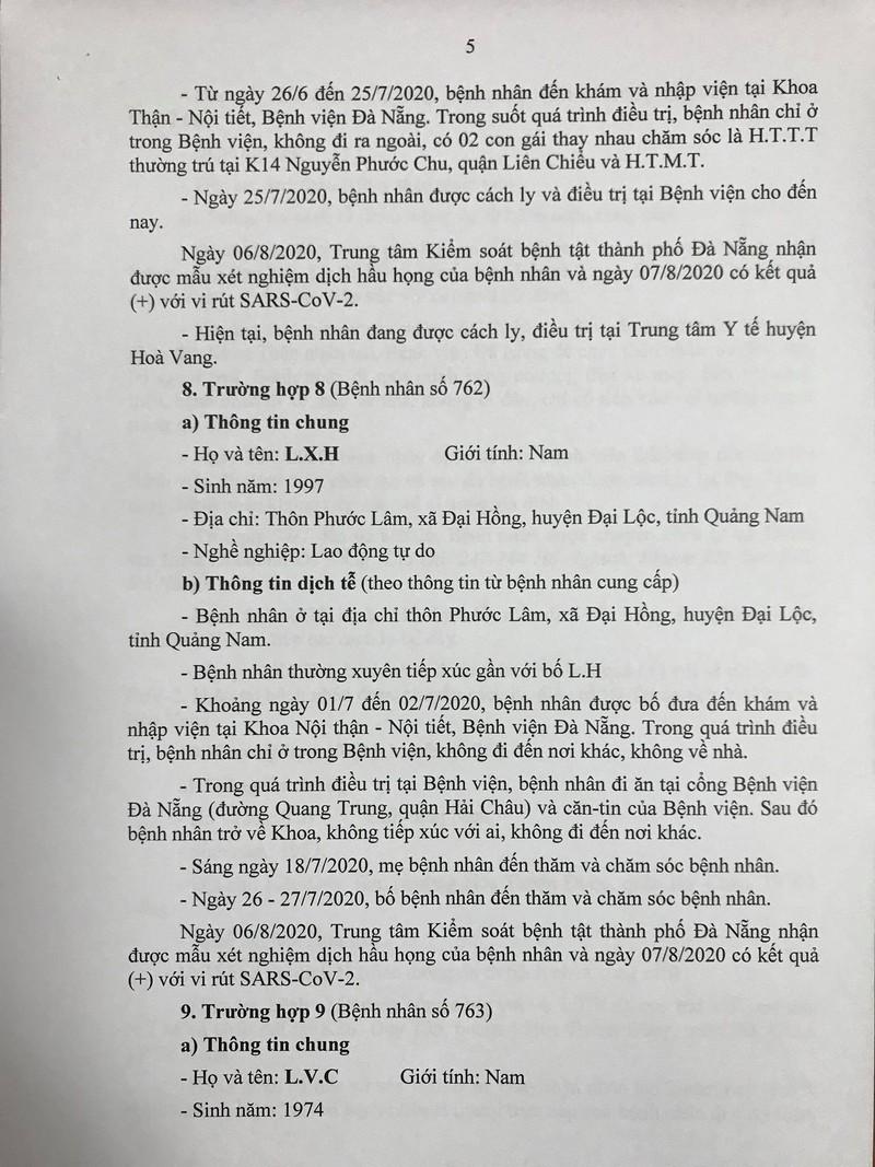 15 ca COVID-19 mới ở Đà Nẵng đã tiếp xúc với những ai? - ảnh 5