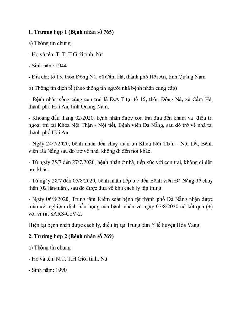 Cán bộ Thanh tra TP Đà Nẵng mắc COVID-19 đi rất nhiều nơi - ảnh 1