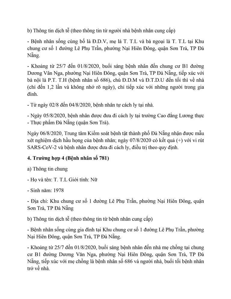 Cán bộ Thanh tra TP Đà Nẵng mắc COVID-19 đi rất nhiều nơi - ảnh 4
