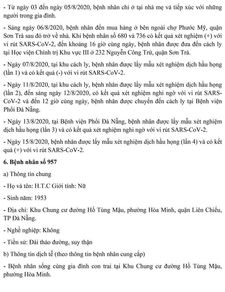 Đà Nẵng: Thêm 3 giáo viên mắc COVID-19, lịch di chuyển dày đặc - ảnh 10