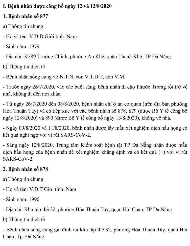 Đà Nẵng: Thêm 3 giáo viên mắc COVID-19, lịch di chuyển dày đặc - ảnh 1