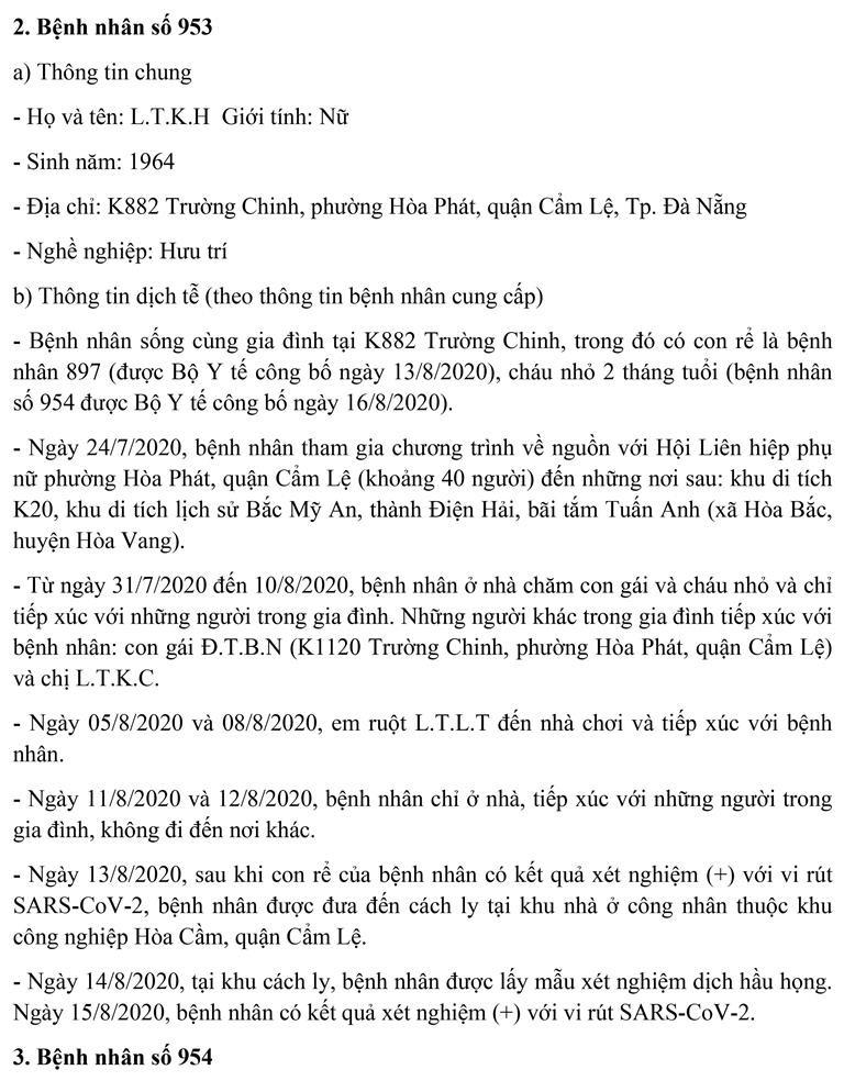 Đà Nẵng: Thêm 3 giáo viên mắc COVID-19, lịch di chuyển dày đặc - ảnh 6