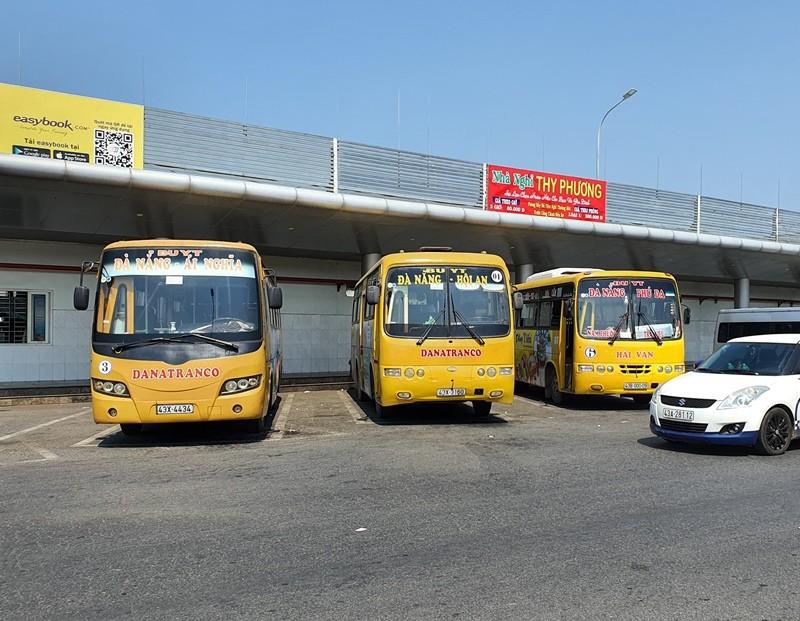 Từ hôm nay, xe buýt Quảng Nam không được vào nội thành Đà Nẵng - ảnh 1