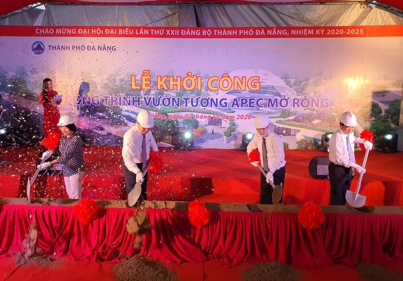Đà Nẵng chi 759 tỉ đồng mở rộng Vườn tượng APEC - ảnh 1
