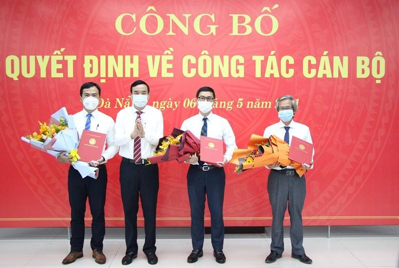 Đà Nẵng bổ nhiệm nhiều lãnh đạo cấp sở - ảnh 1