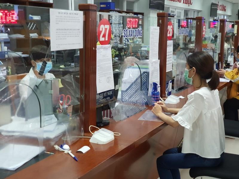 Từ 30-9, Đà Nẵng mở lại bộ phận một cửa giải quyết thủ tục hành chính - ảnh 1