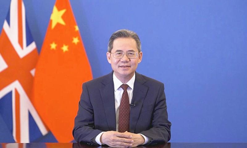 Đáp trả lệnh trừng phạt, Anh 'cấm cửa' Đại sứ TQ tham gia sự kiện tại Quốc hội - ảnh 1