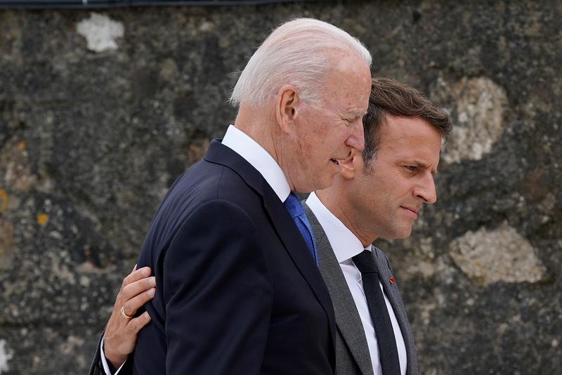 Vụ AUKUS: Mỹ điện đàm hàn gắn Pháp, Anh kêu gọi Paris bình tĩnh - ảnh 1