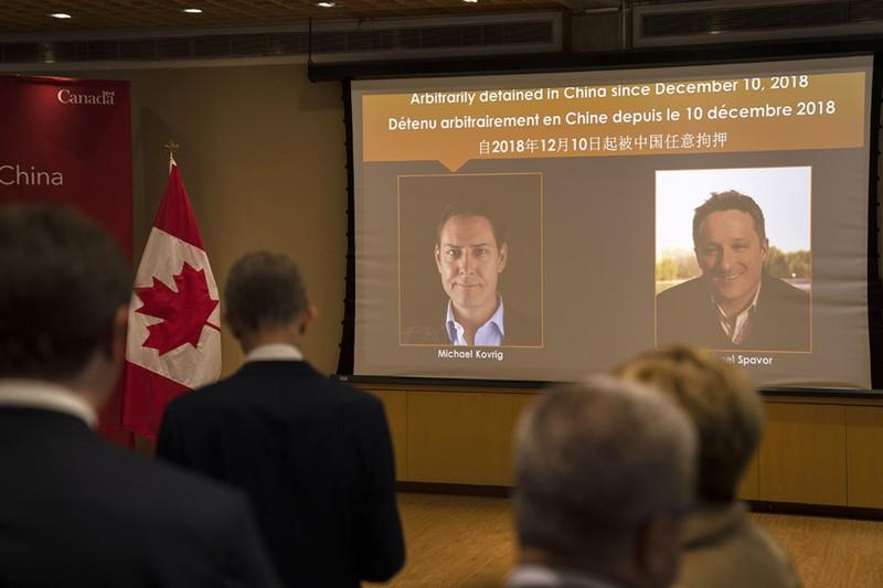 Trung Quốc thả hai công dân Canada sau khi bà Mạnh Vãn Châu được trả tự do - ảnh 1