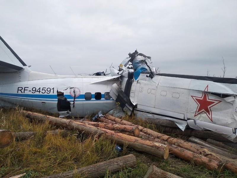 Rơi máy bay ở Nga, ít nhất 16 người chết  - ảnh 1