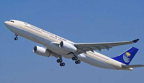 Máy bay củaãng hàng không Arab Saudi
