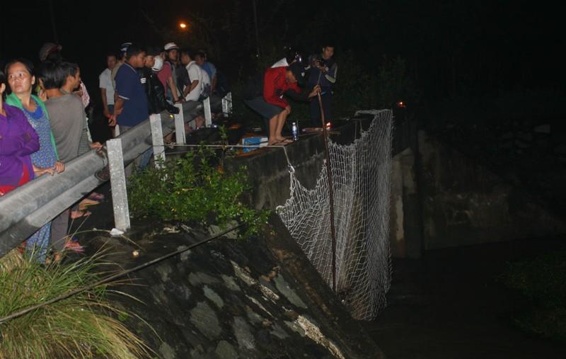 Căng lưới cách hiện trường 3 km để tìm kiếm bé trai - ảnh 2