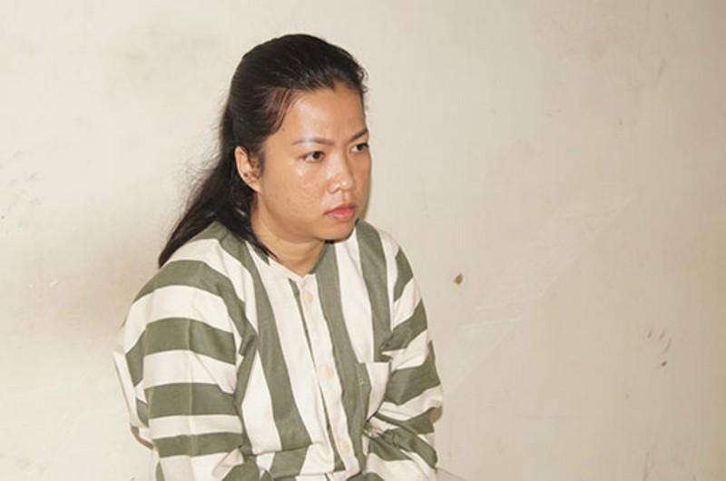 Nghi can Trang tại cơ quan công an.