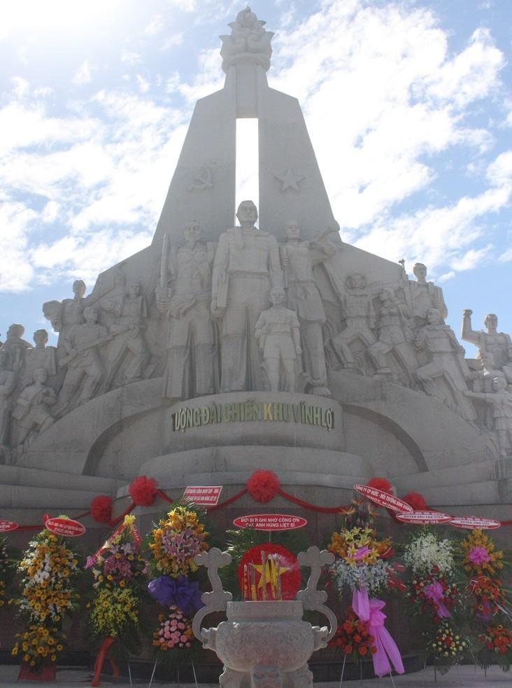 Khánh thành Khu di tích nơi hơn 1.000 anh hùng hy sinh - ảnh 2