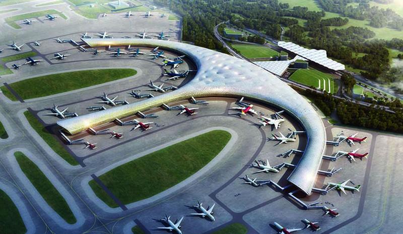 Một trong những đồ án thiết kế sân bay quốc tế Long Thành.