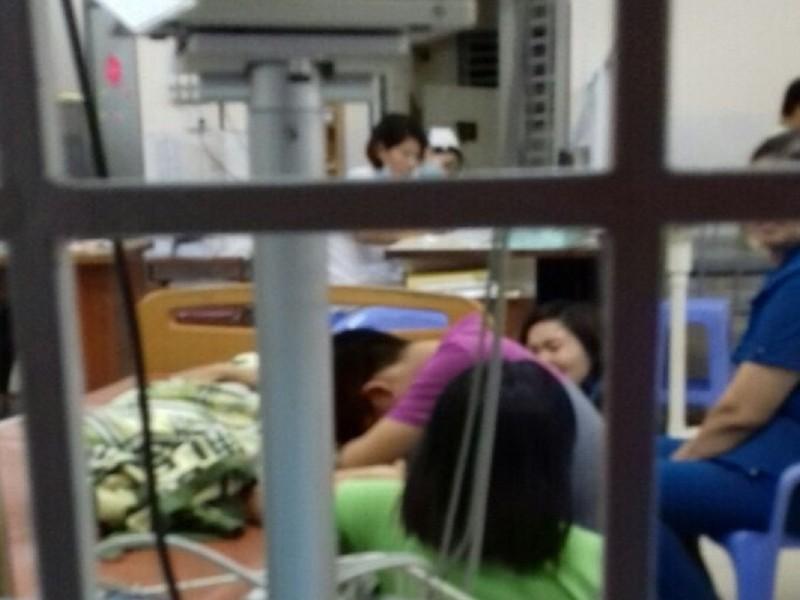 Bé trai 4 tuổi tử vong, dân vây Bệnh viện Bình Dương - ảnh 1