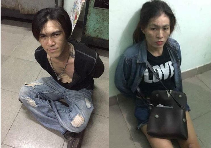 Bắt cặp tình nhân 'thủ' súng đi bán ma túy - ảnh 1